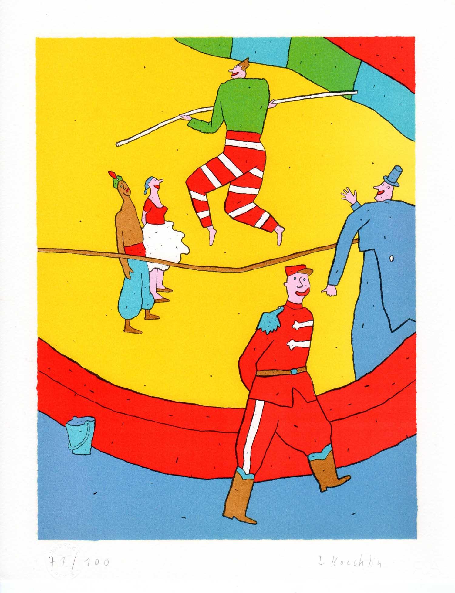 Lionel Koechlin | Le funambule |