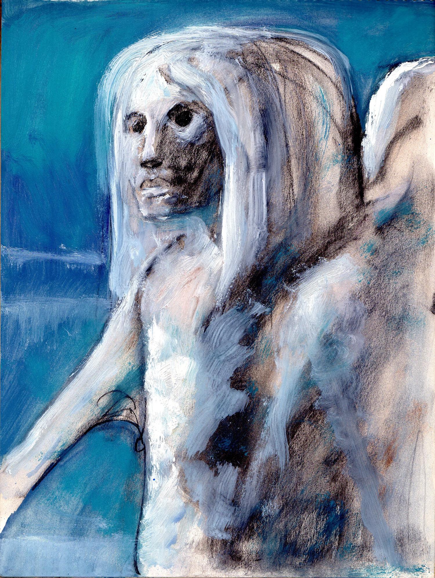 nouvelle image | Portrait bleu | Guido Buzzelli