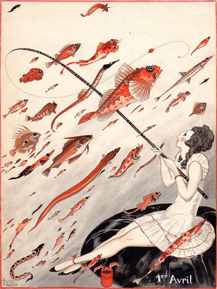 Armand Vallée | La pêche au poisson d'avril | Armand Vallée