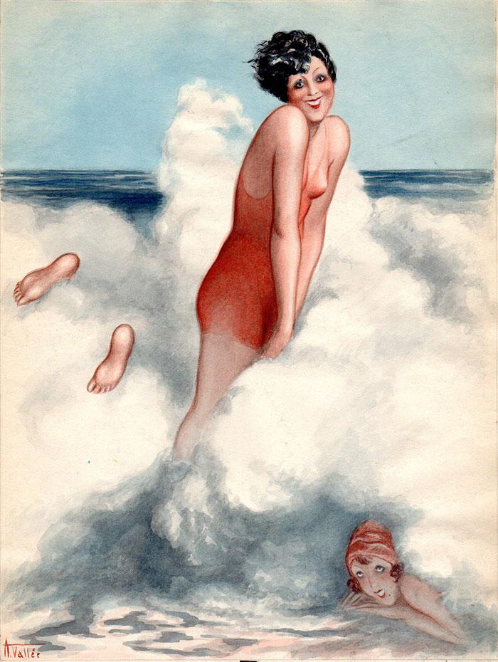 Armand Vallée | Ah si les vagues avaient des mains | Armand Vallée