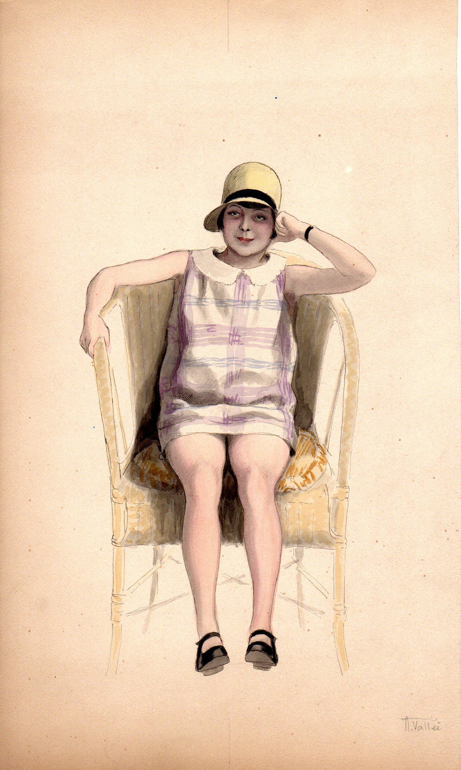 Jeune Fille | La jeune fille | Armand Vallée