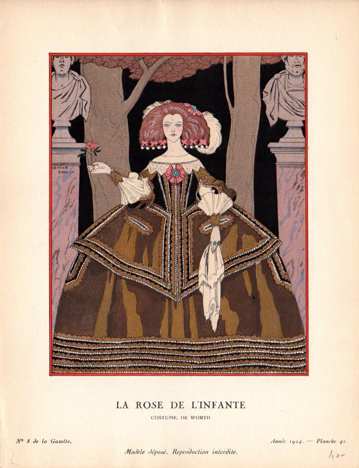 La Gazette du bon ton | LA ROSE DE L'INFANTE | Gazette du bon ton n°8
