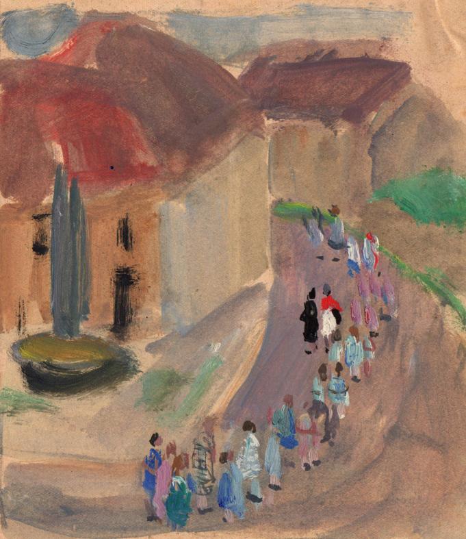 Suzanne Humbert | La procession | Suzanne Humbert
