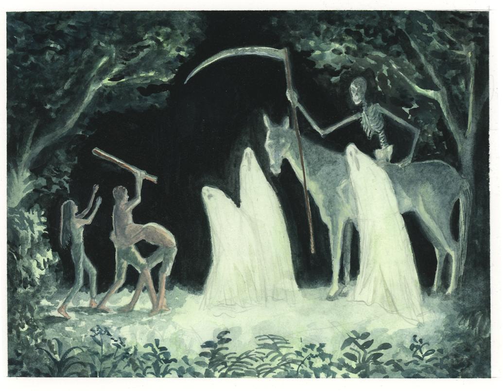 Lisa Zordan | 3 fantômes | Lisa Zordan