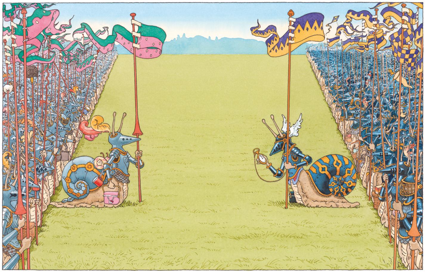La Bataille | La Bataille - Le Chevalier de ventre à Terre | Gilles Bachelet