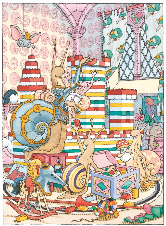 La chambre d'enfants | La chambre d'enfants - Le Chevalier de ventre à Terre | Gilles Bachelet