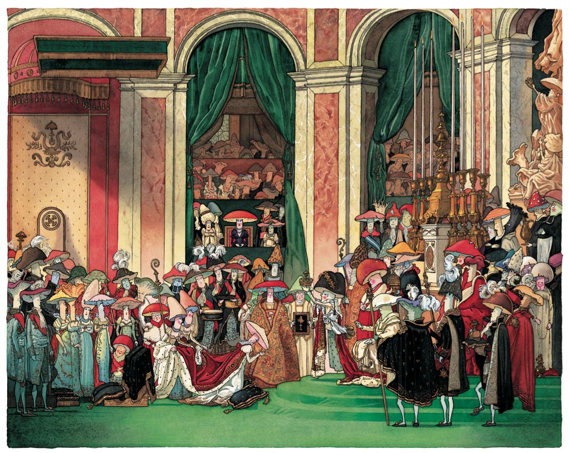 Le sacre de Champignon Bonaparte | Le sacre de Champignon Bonaparte | Gilles Bachelet