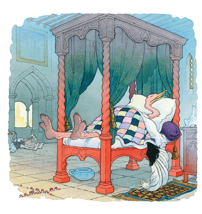 La belle au bois dormant | La belle au bois dormant | Il n'y a pas d'autruches dans les contes de fées