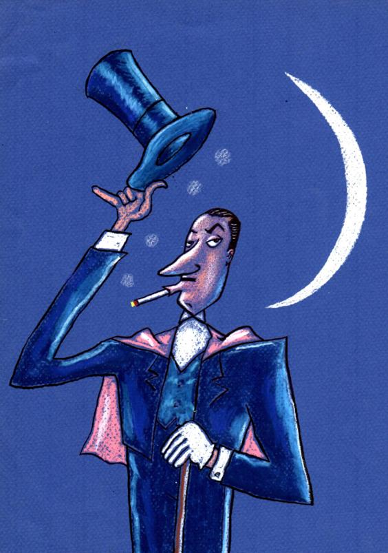 Patrick Mandray | Le magicien | Mandray
