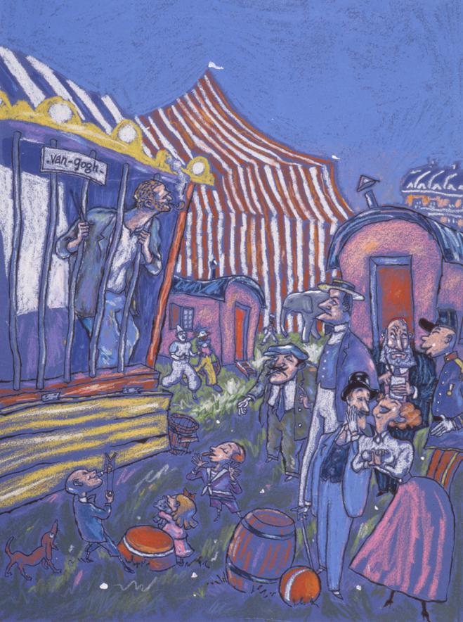 Mandray | Van Gogh circus | Mandray