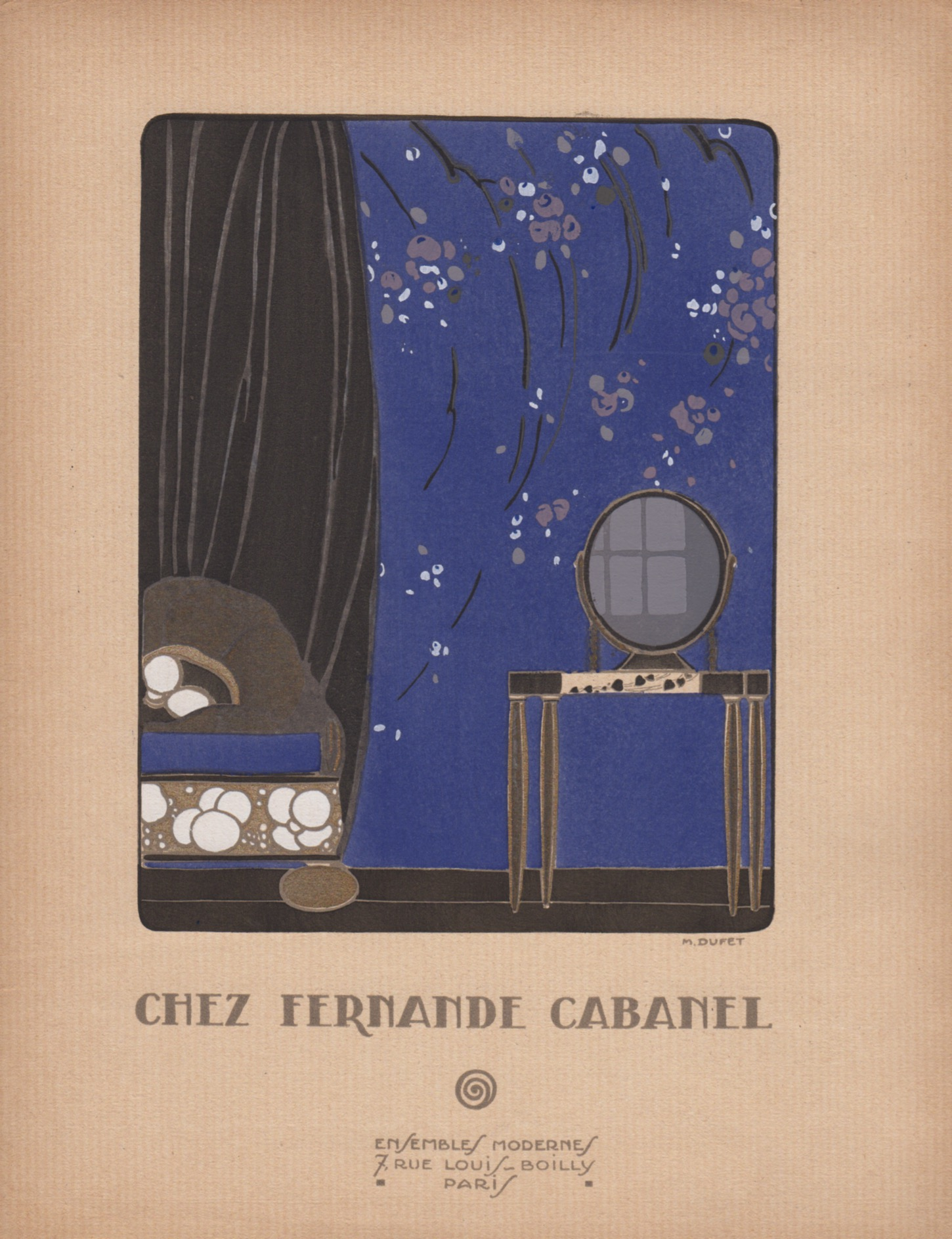 nouvelle image | Chez Fernande Cabanel | M.Dufet
