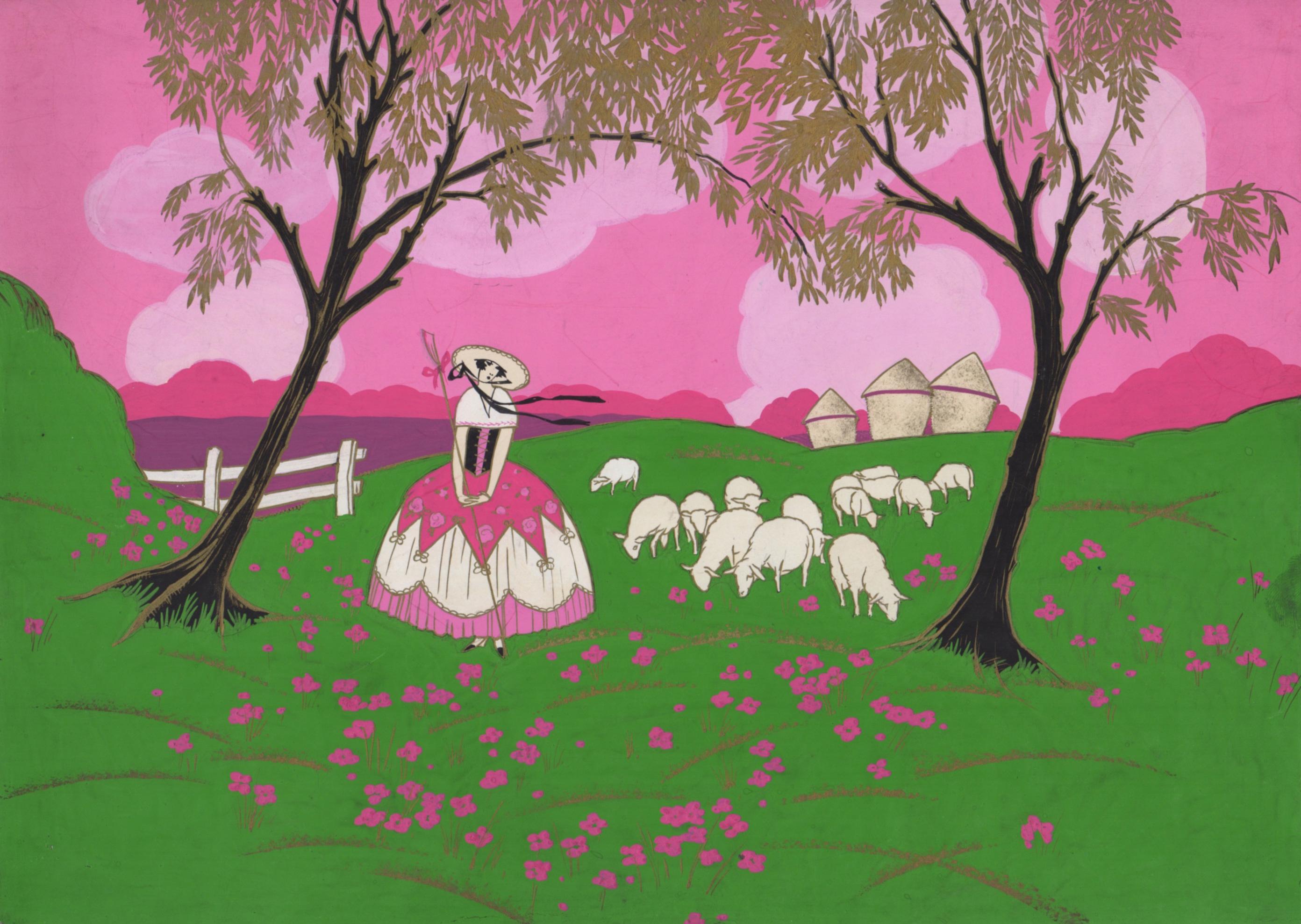 La bergère | La bergère | artiste inconnu