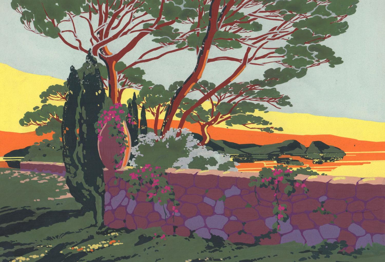 Les pins parasols | Les pins Parasols | artiste inconnu