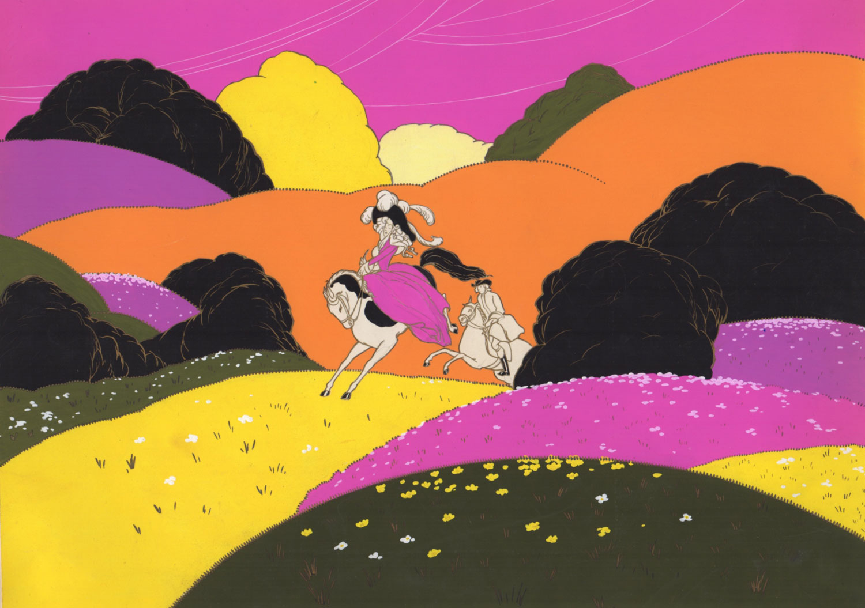 La chasse à courre | La chasse à courre | artiste inconnu