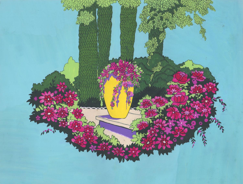 La jarre fleurie | La jarre fleurie | artiste inconnu