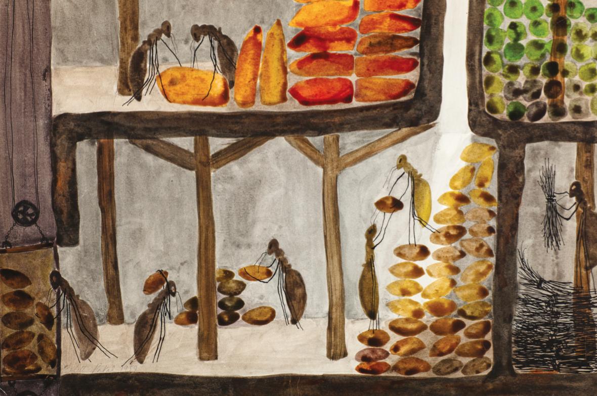 Les greniers | Les greniers / La vie d'une Reine | Colette Portal