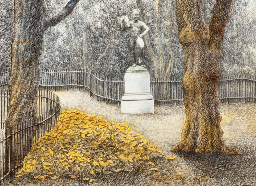 L'âge de pierre | L'âge de pierre / Le jardin de Buffon | Colette Portal