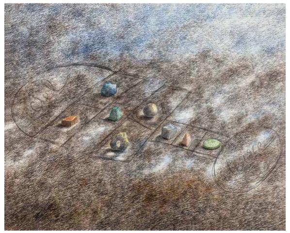 Un pied par terre | Un pied par terre / Le Jardin de Buffon | Colette Portal