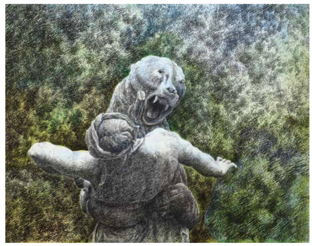 Dénicheur d'ourson / Le Jardin de Buffon | Dénicheur d'ourson / Le Jardin de Buffon | Colette Portal