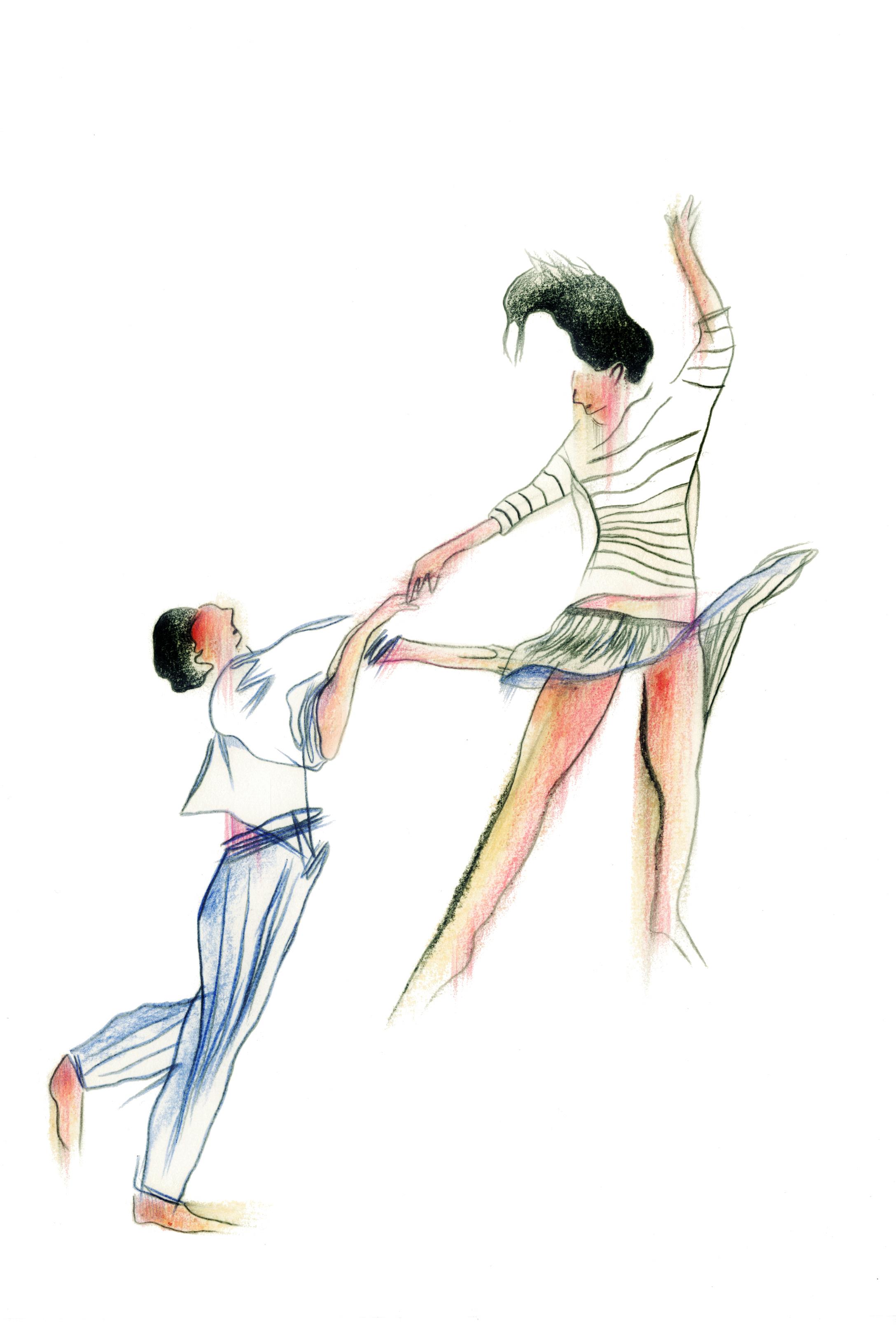 Danse 3 | GALERIE TREIZE DIX / DANSE #3 | NOÉMIE CHUST