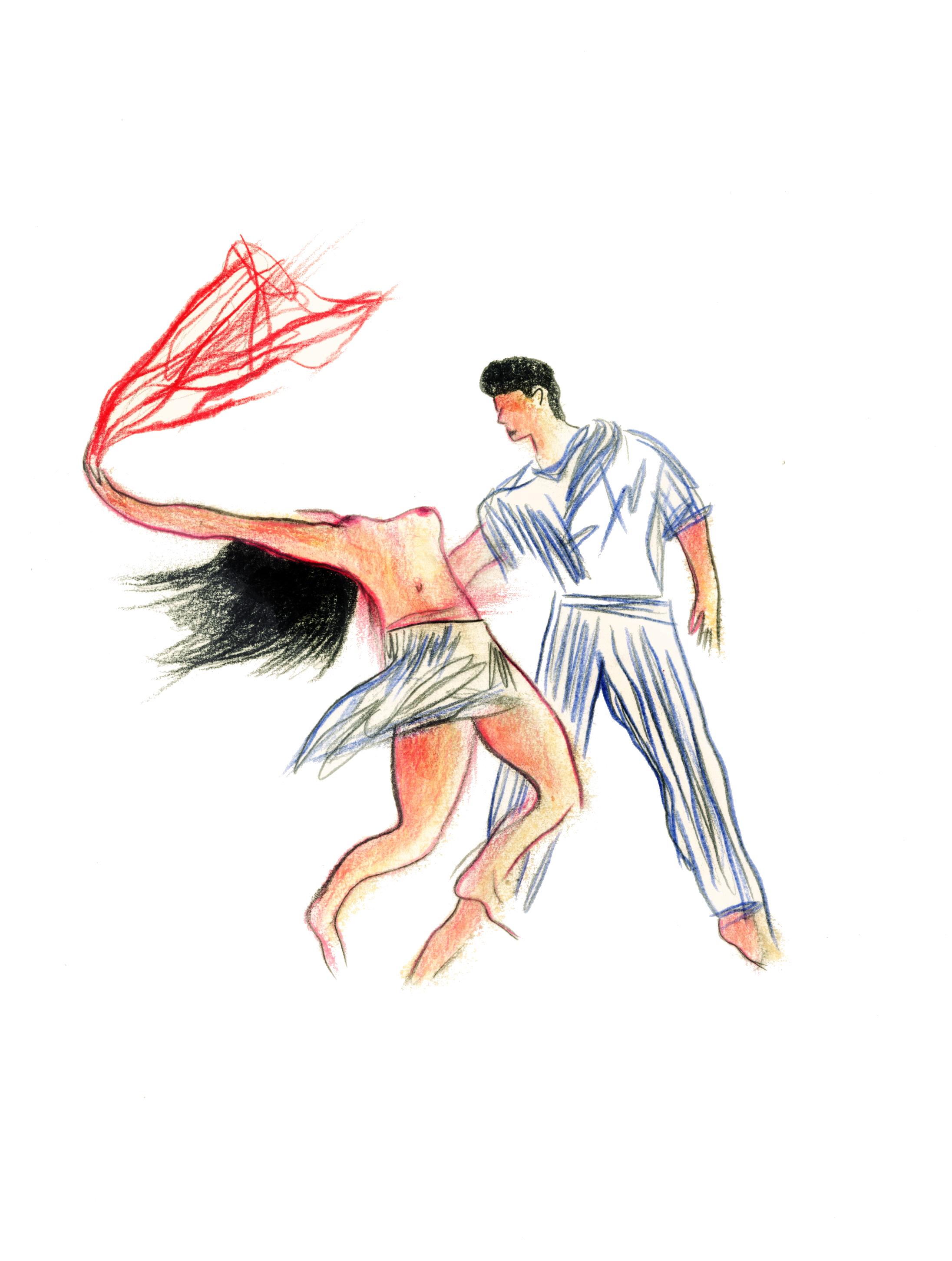 Danse 6 | GALERIE TREIZE DIX / DANSE #6 | NOÉMIE CHUST