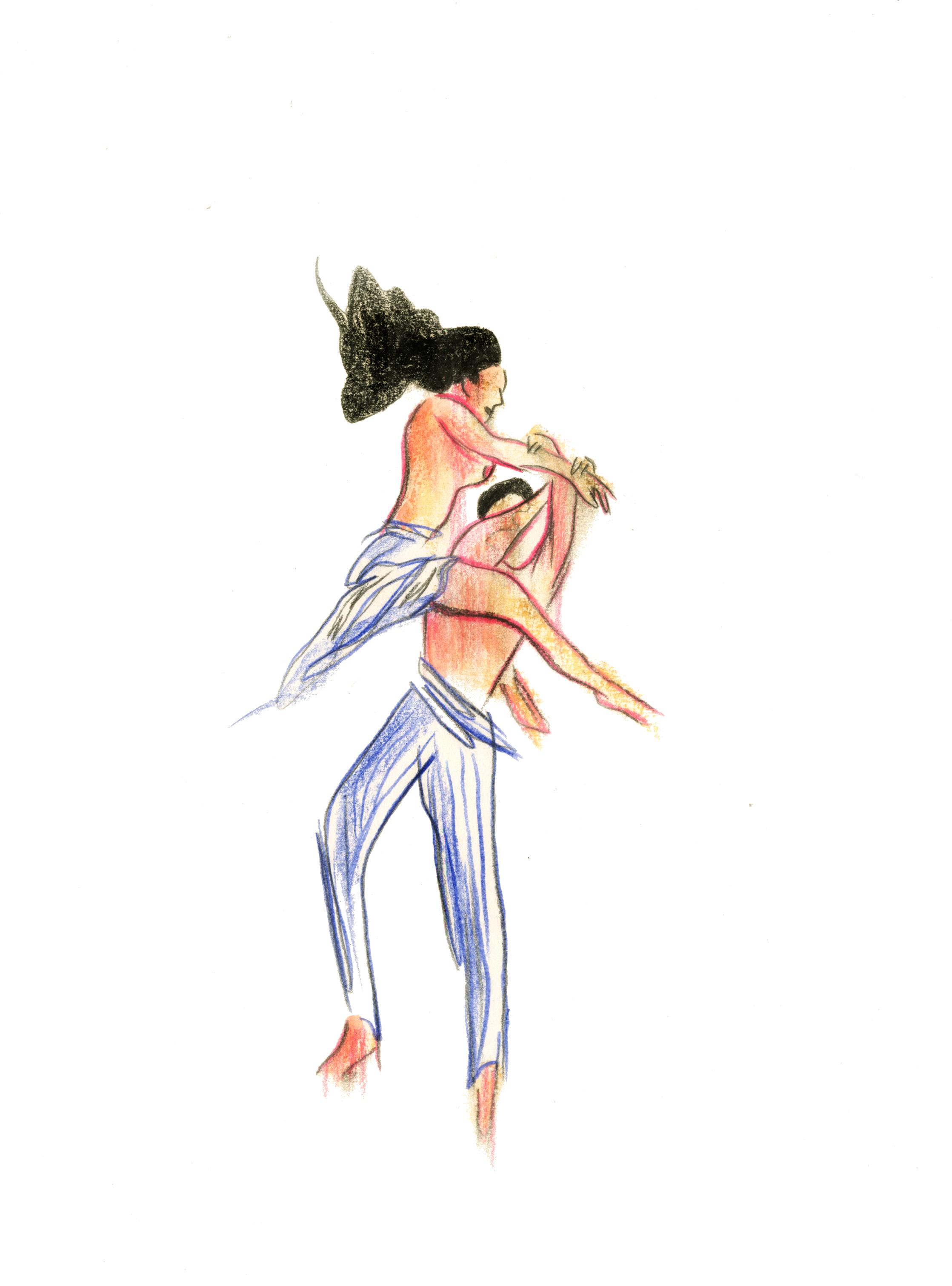 Danse 7 | GALERIE TREIZE DIX / DANSE #7 | NOÉMIE CHUST