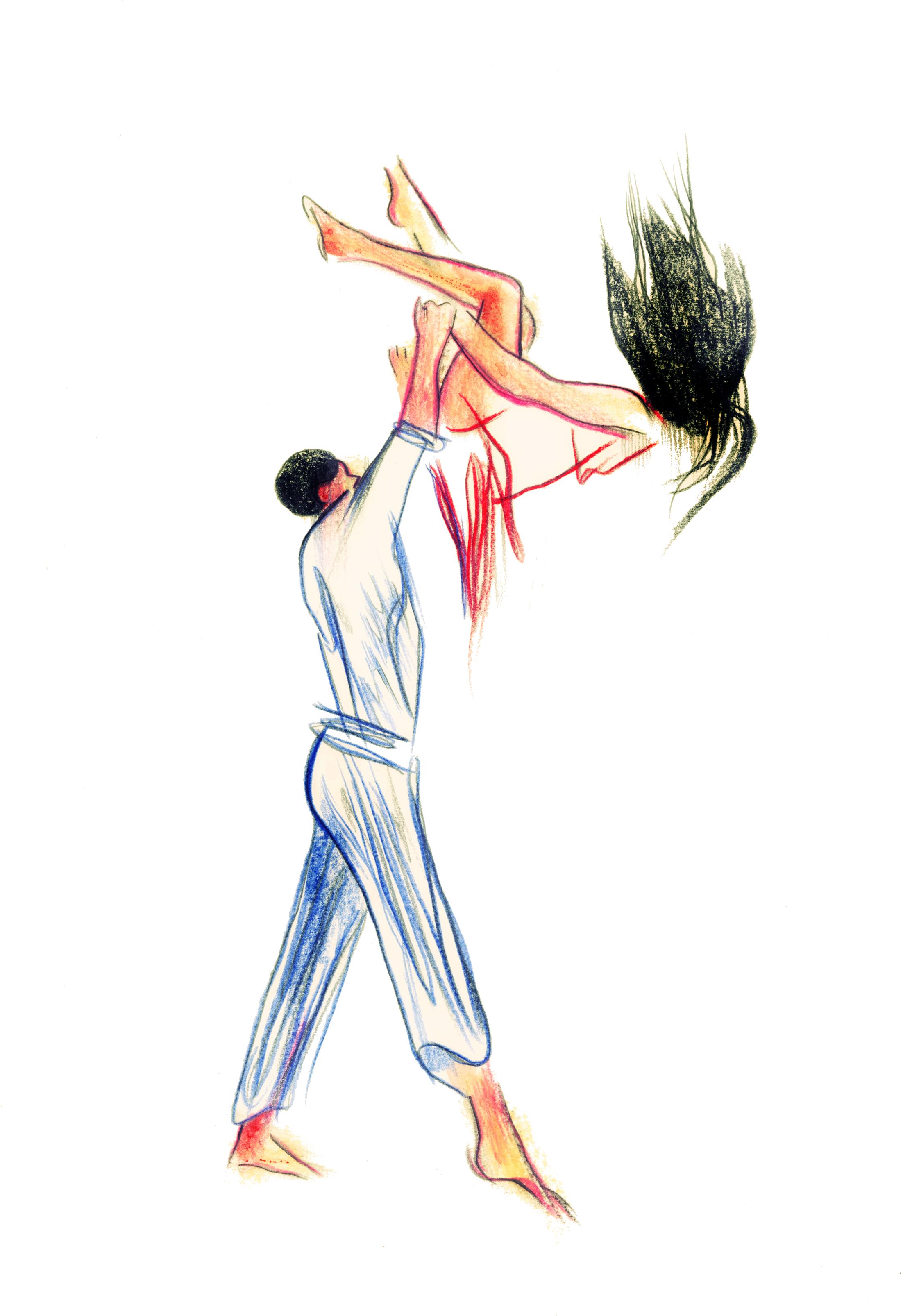 Danse 8 | GALERIE TREIZE DIX / DANSE #8 | NOÉMIE CHUST