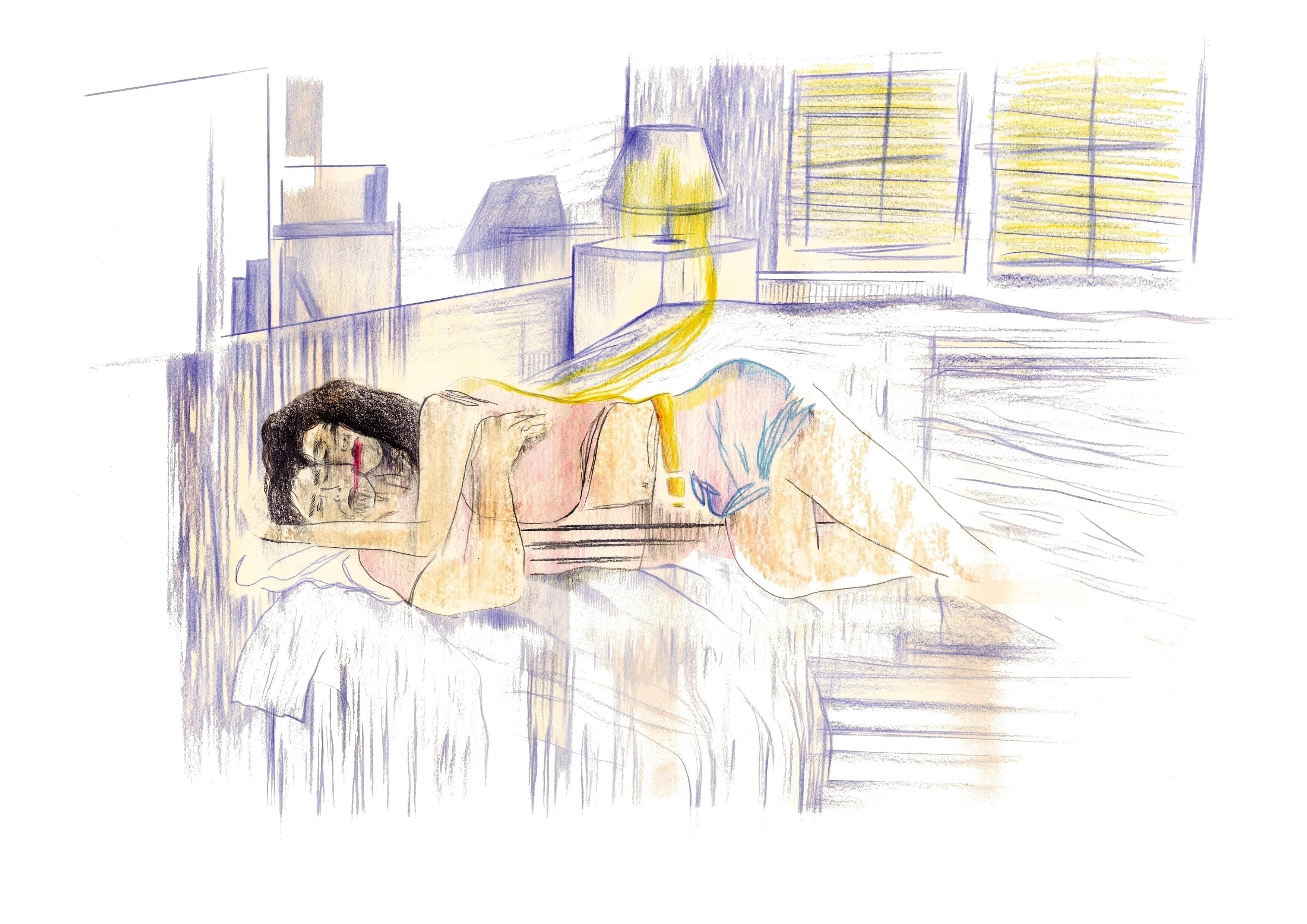L'étreinte | GALERIE TREIZE DIX | NOÉMIE CHUST