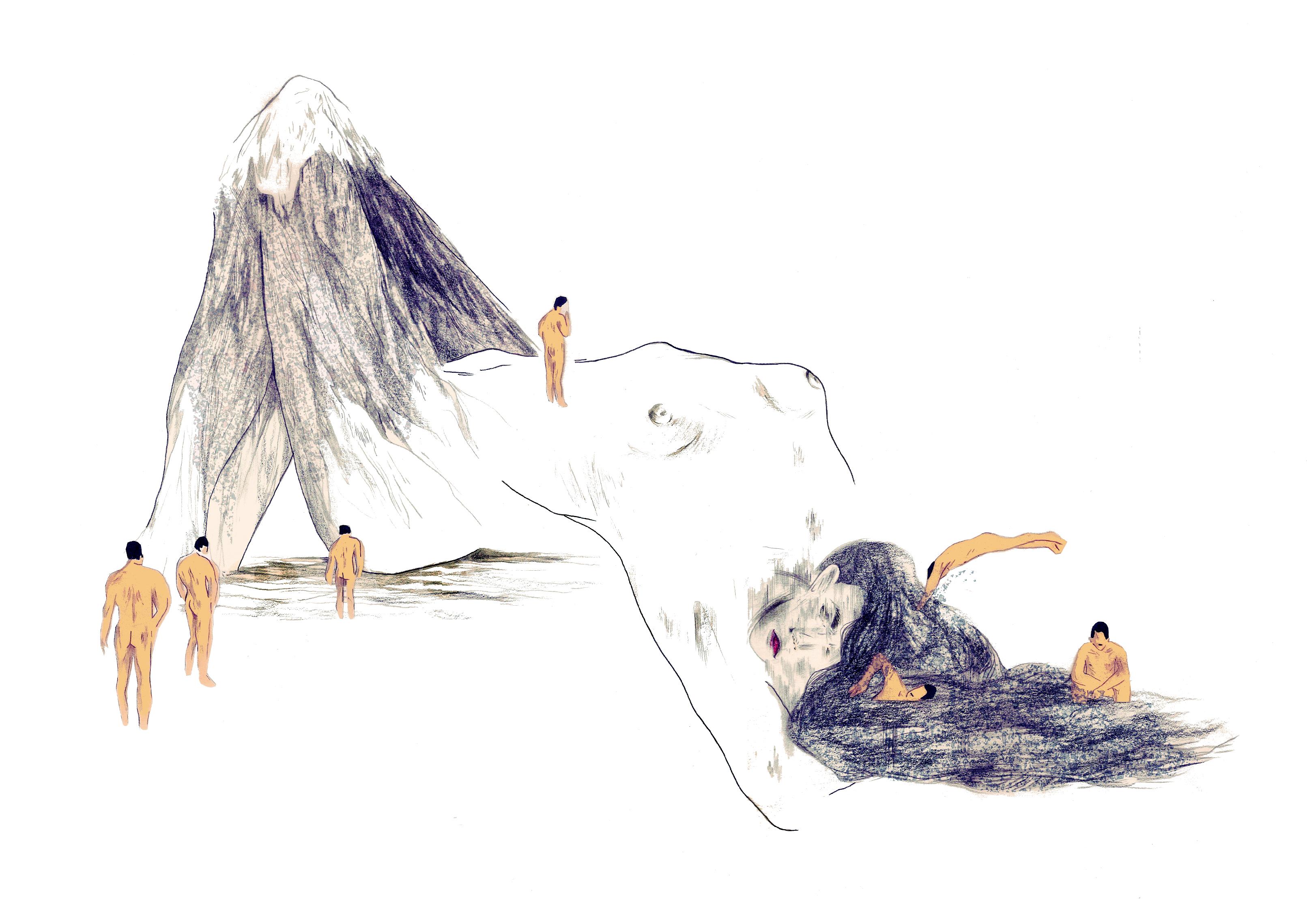 La femme paysage | GALERIE TREIZE DIX | NOÉMIE CHUST