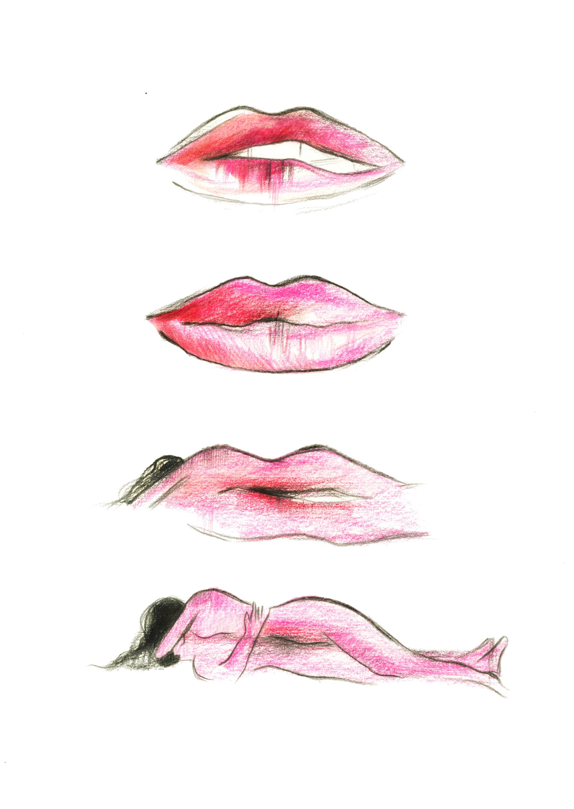 Le baiser | GALERIE TREIZE DIX / LE BAISER | NOÉMIE CHUST