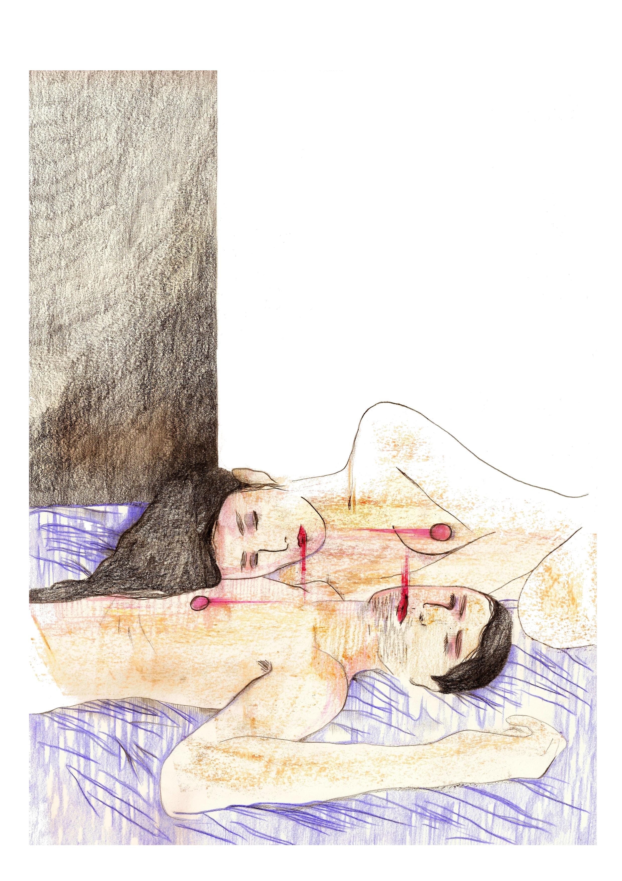 Les traces | GALERIE TREIZE DIX / LES TRACES | NOÉMIE CHUST