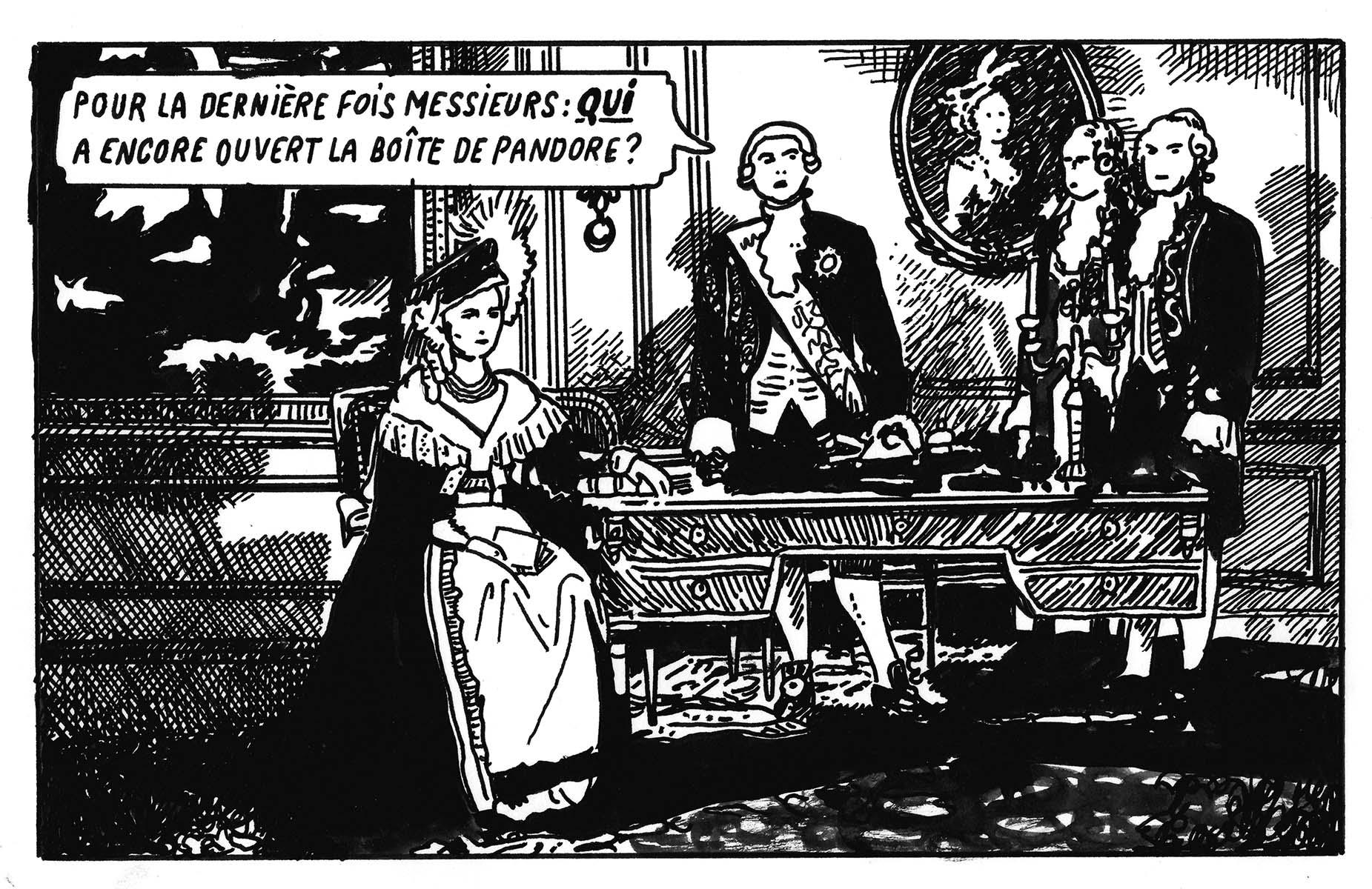 La boite de pandore | GALERIE TREIZE-DIX / LA BOITE DE PANDORE | STÉPHANE TRAPIER