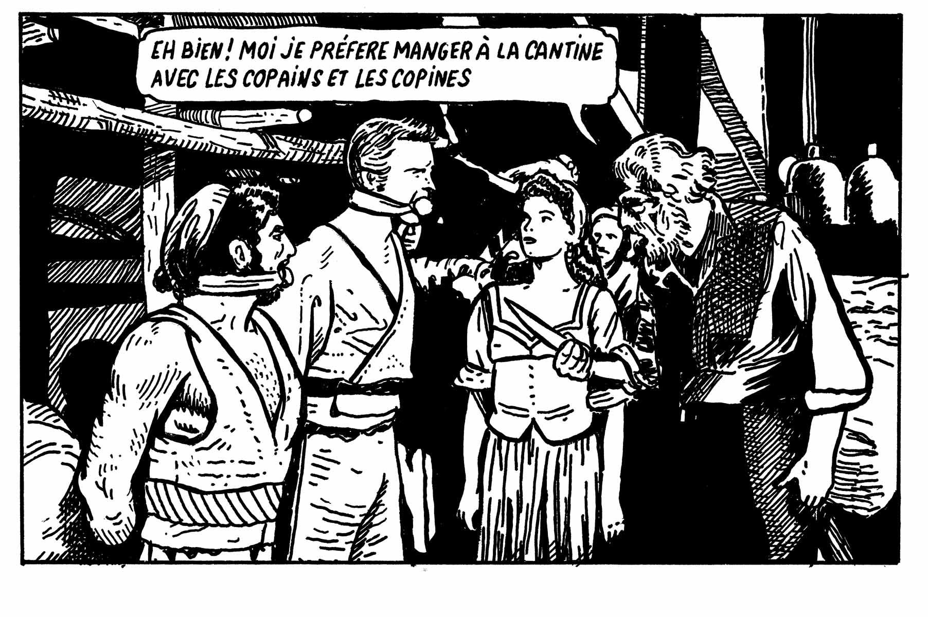 La cantine | GALERIE TREIZE-DIX / LA CANTINE | STÉPHANE TRAPIER