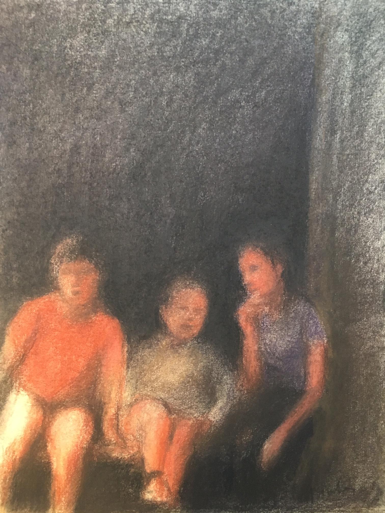 Anne Gorouben, Trois enfants, c'est toujours deux et une | GALERIE TREIZE-DIX I AUTRE JE | Anne Gorouben, Trois enfants, c'est toujours deux et une