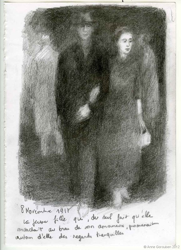 8 novembre 1911 | GALERIE TREIZE-DIX I AUTRE JE | Anne Gorouben, 8 novembre 1911