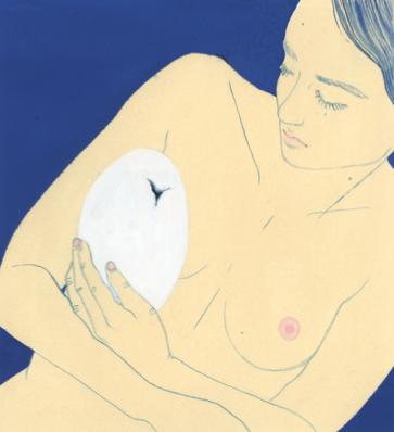 L'œuf | GALERIE TREIZE-DIX I AUTRE JE | LIsa Zordan / L'œuf