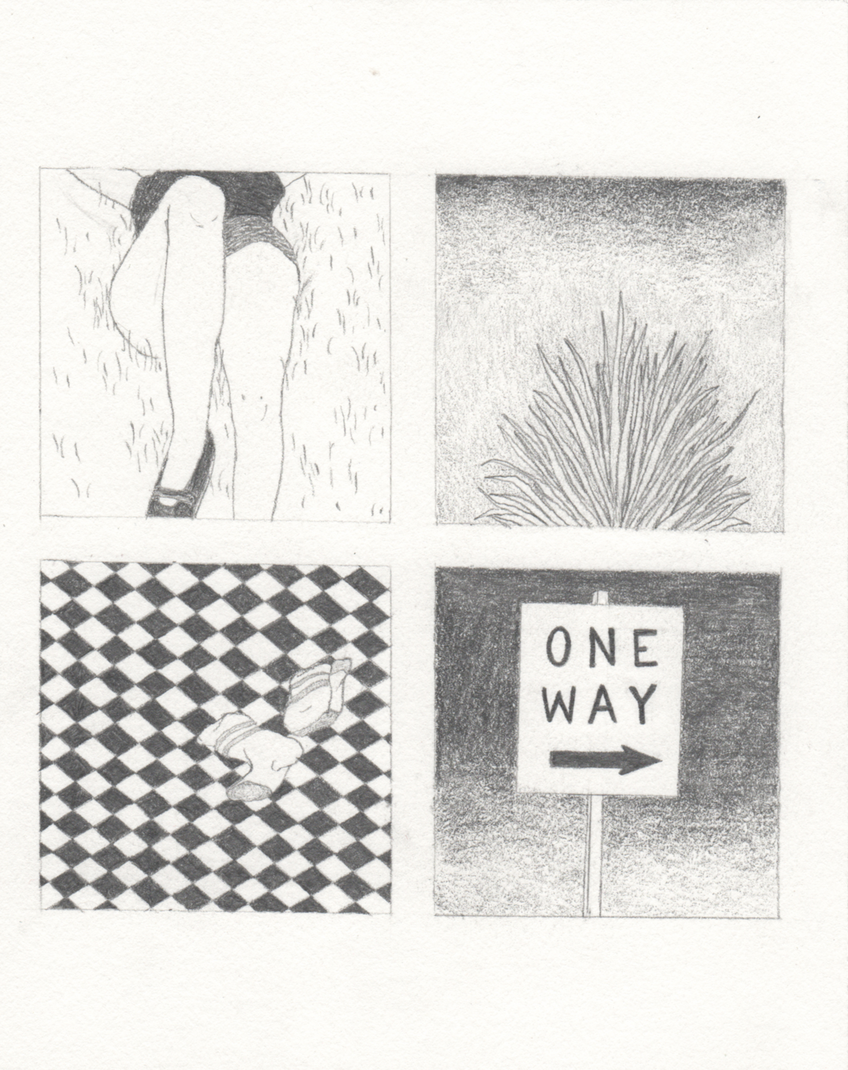 One way | GALERIE TREIZE-DIX I AUTRE JE | Sarah Beth Schneider / One way