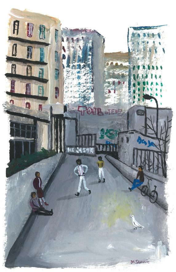 MIROSLAV SEKULIC : PARIS 8 | GALERIE TREIZE-DIX I PARIS 8 | MIROSLAV SEKULIC