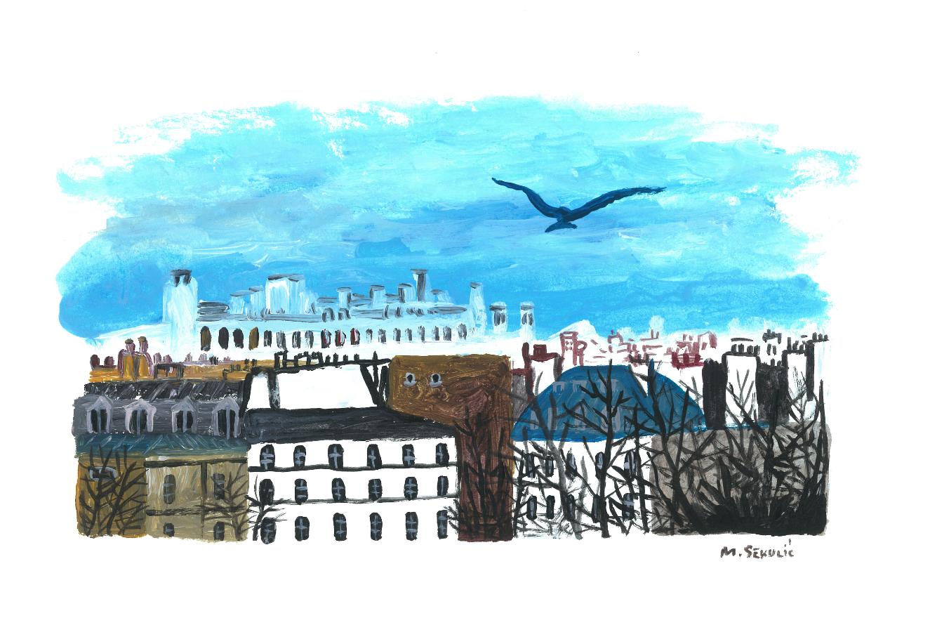 MIROSLAV SEKULIC : PARIS 12 | GALERIE TREIZE-DIX I PARIS 12 | MIROSLAV SEKULIC