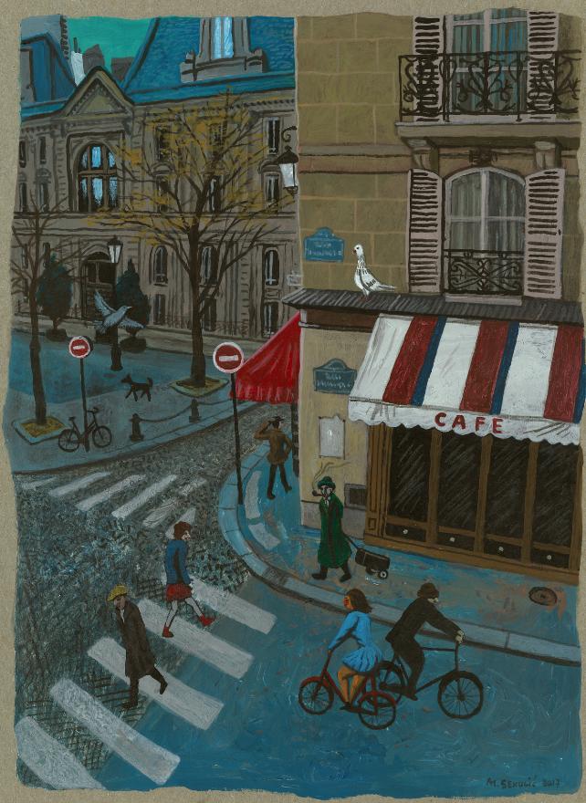 MIROSLAV SEKULIC : PARIS 27 | GALERIE TREIZE-DIX I PARIS 27 | MIROSLAV SEKULIC