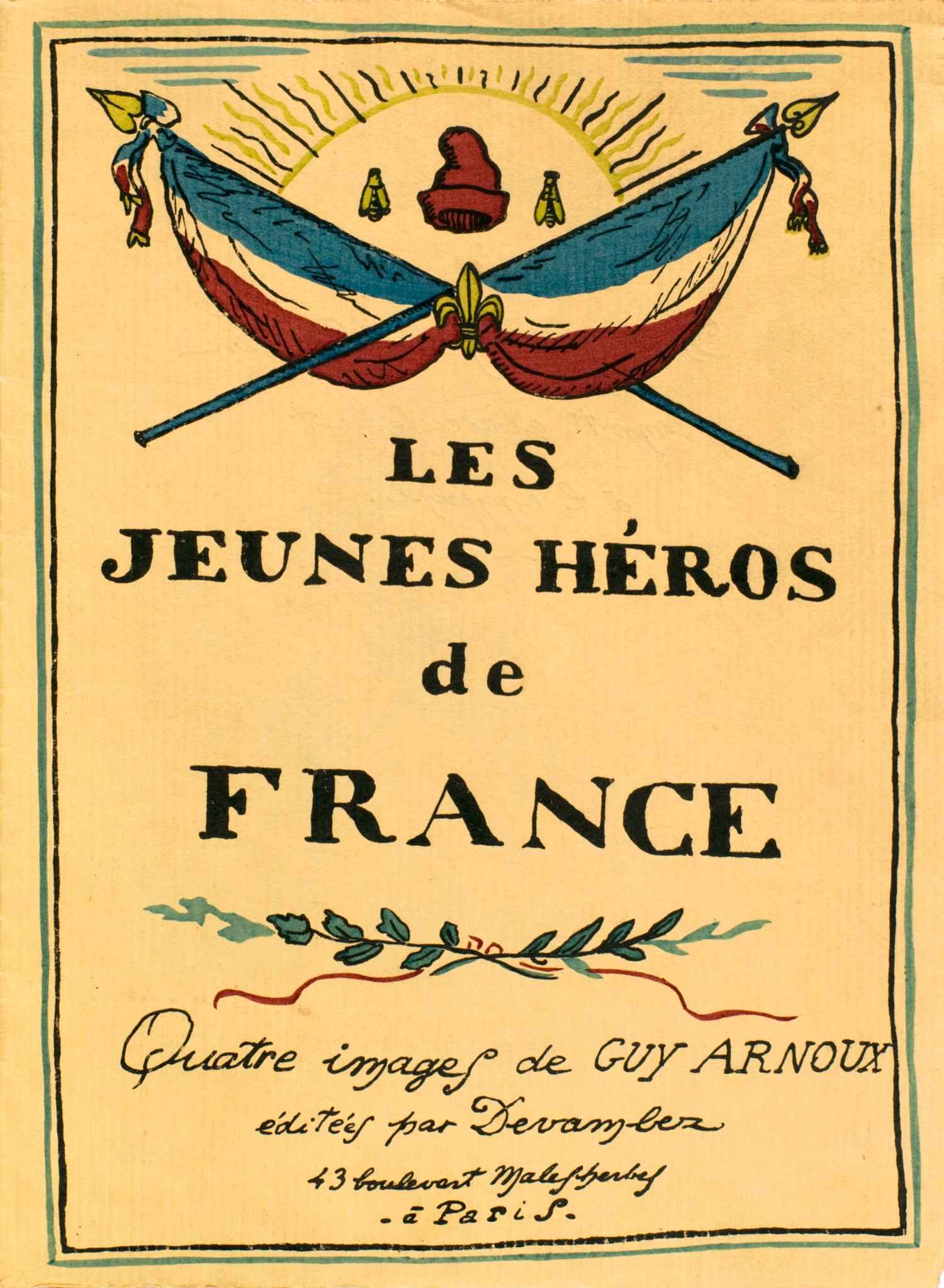 Couverture | Guy Arnoux | Les jeunes héros de France