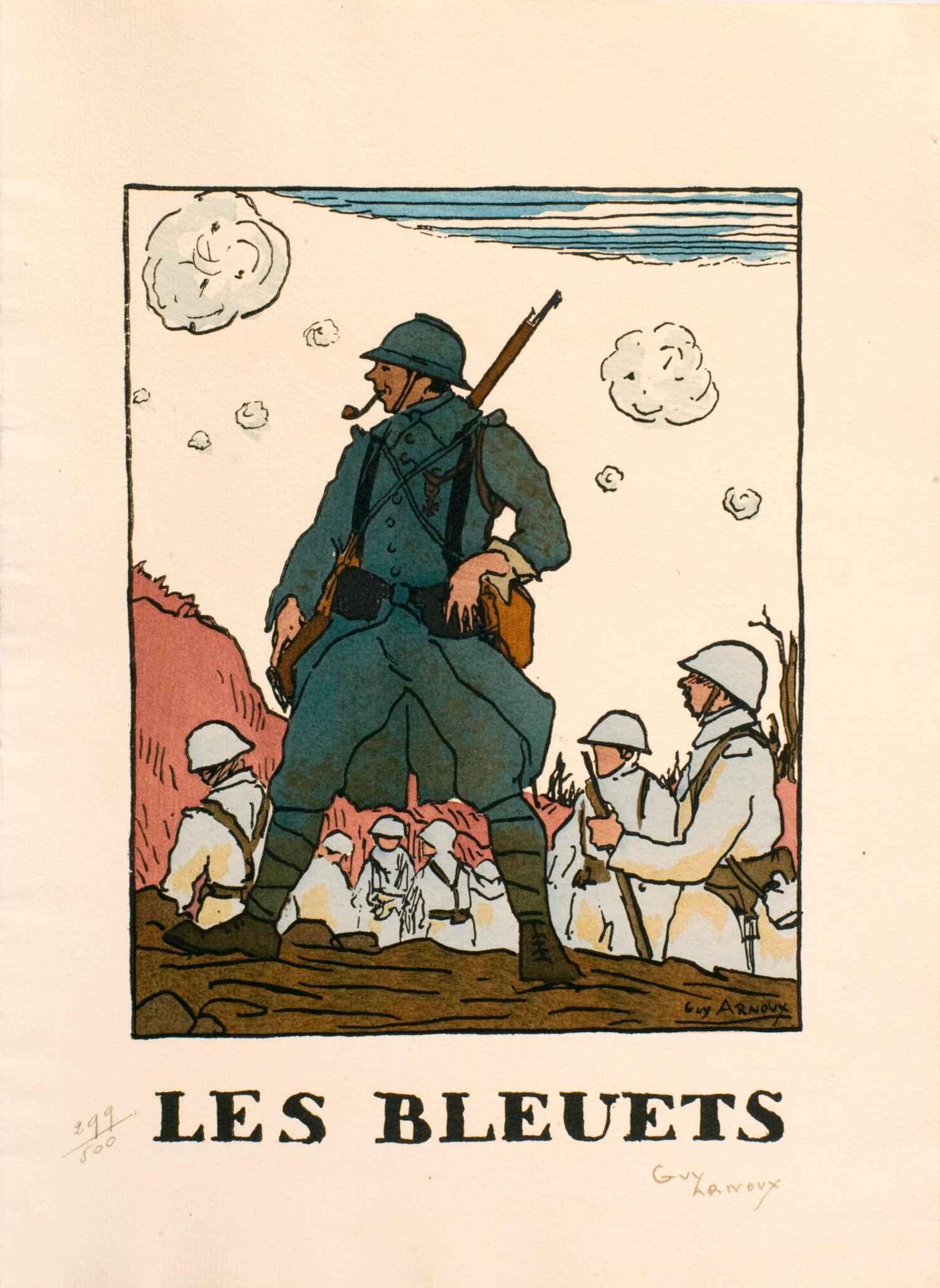 Les Bleuets   Guy Arnoux   Les jeunes héros de France