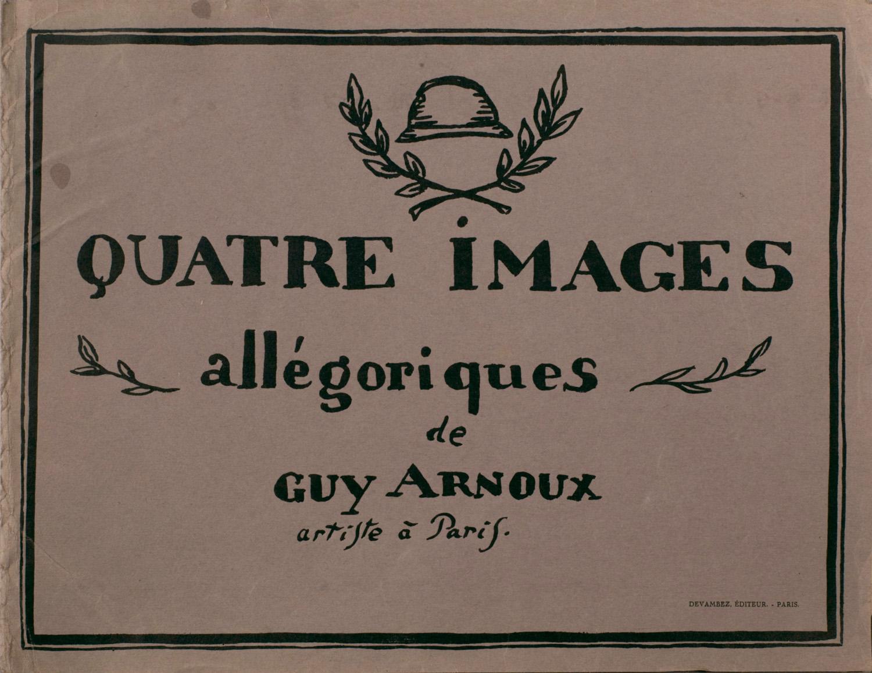 Couverture | Guy Arnoux | Quatre images allégoriques