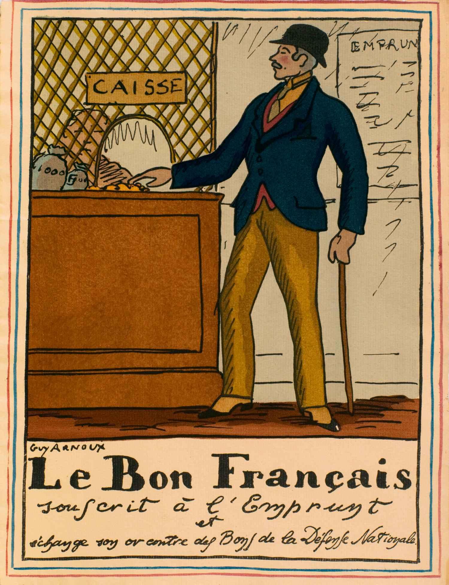 Le bon français souscrit à l'emprunt | Guy Arnoux | Le Bon Français