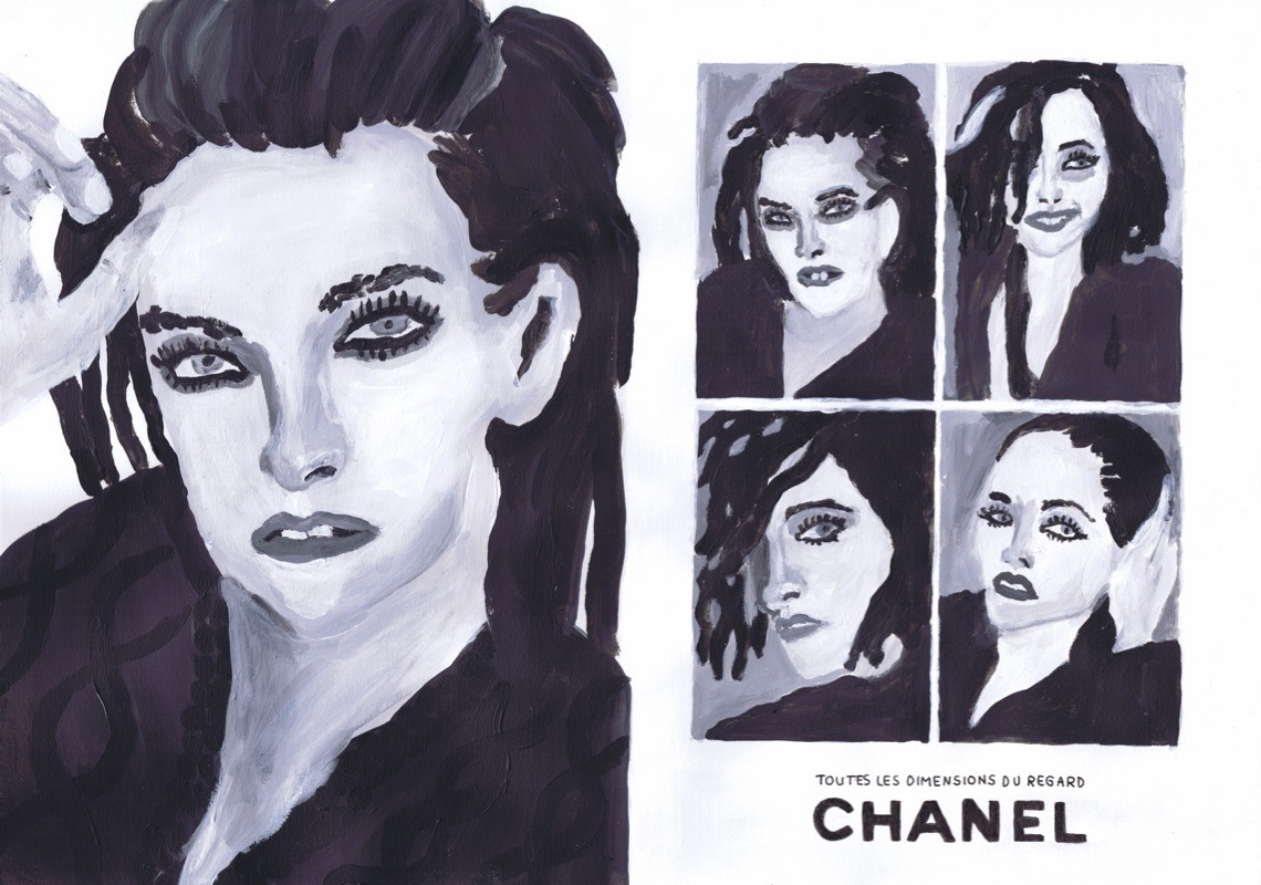 NATACHA PASCHAL | GALERIE TREIZE-DIX / CHANEL COMMERCIAL | NATACHA PASCHAL