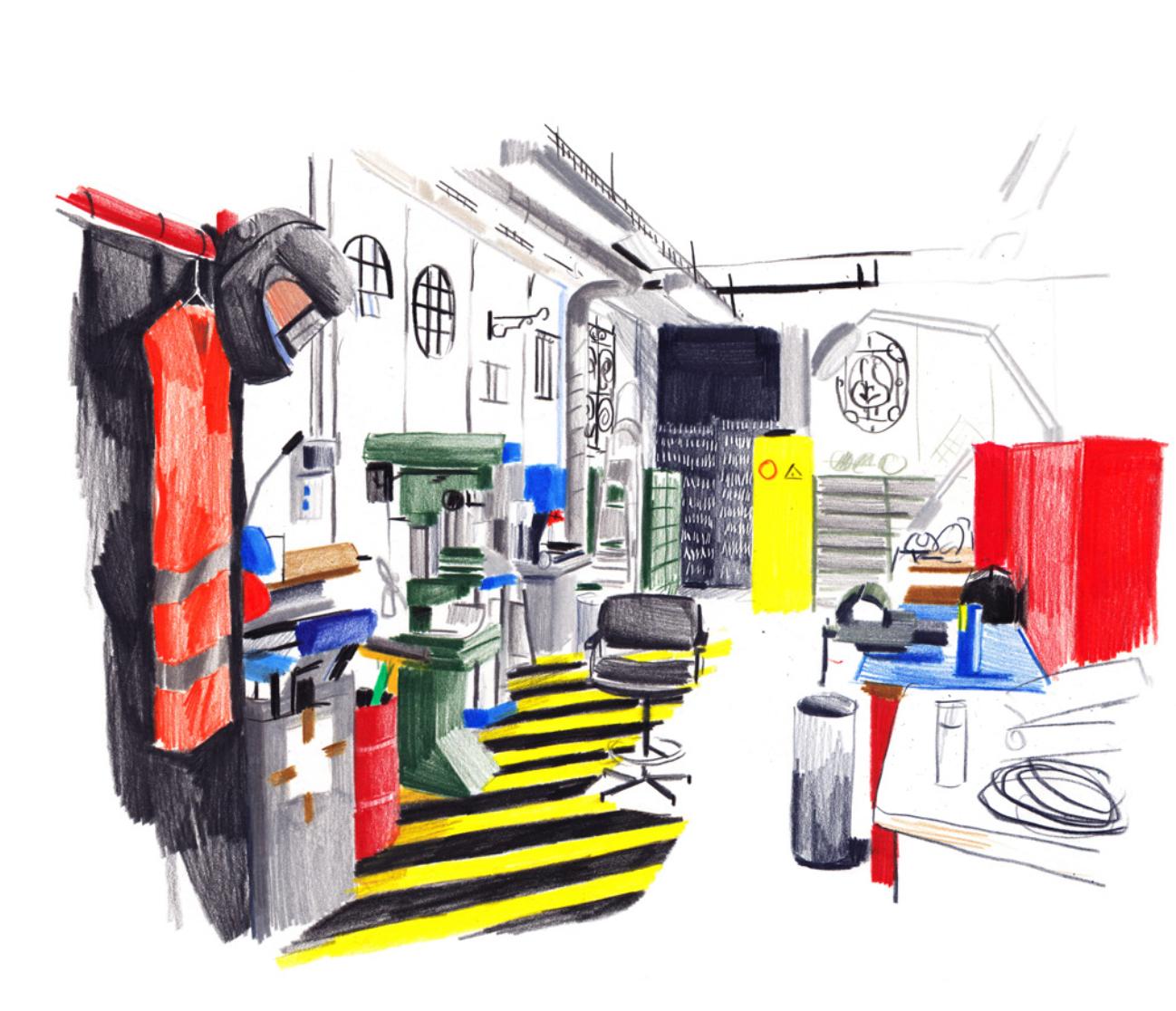 L'atelier Serrurerie | GALERIE TREIZE-DIX I LUCILE PIKETTY | L'atelier Serrurerie