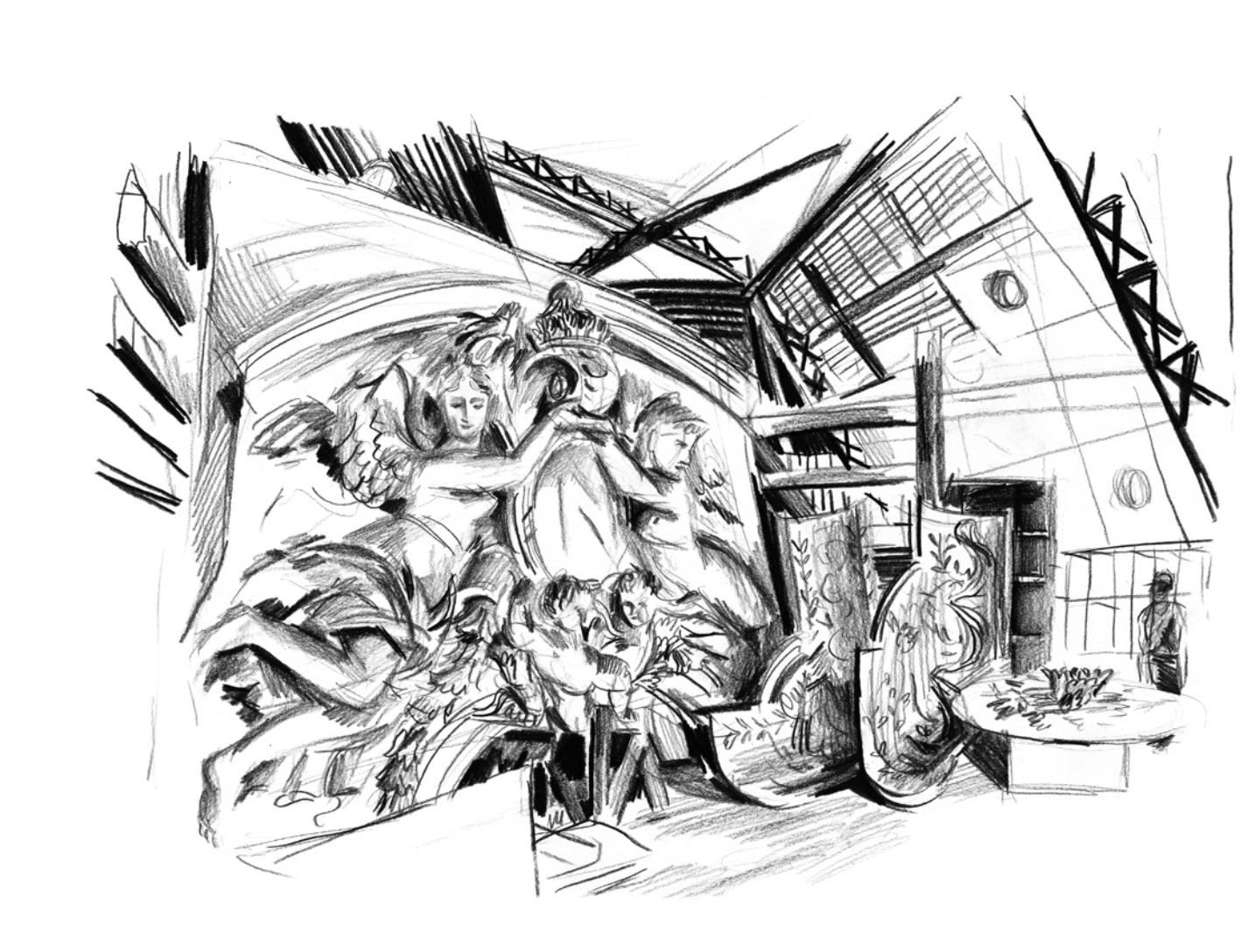 Un decor abandonné, cloche Mollien | GALERIE TREIZE-DIX I LUCILE PIKETTY | Un decor abandonné, cloche Mollien