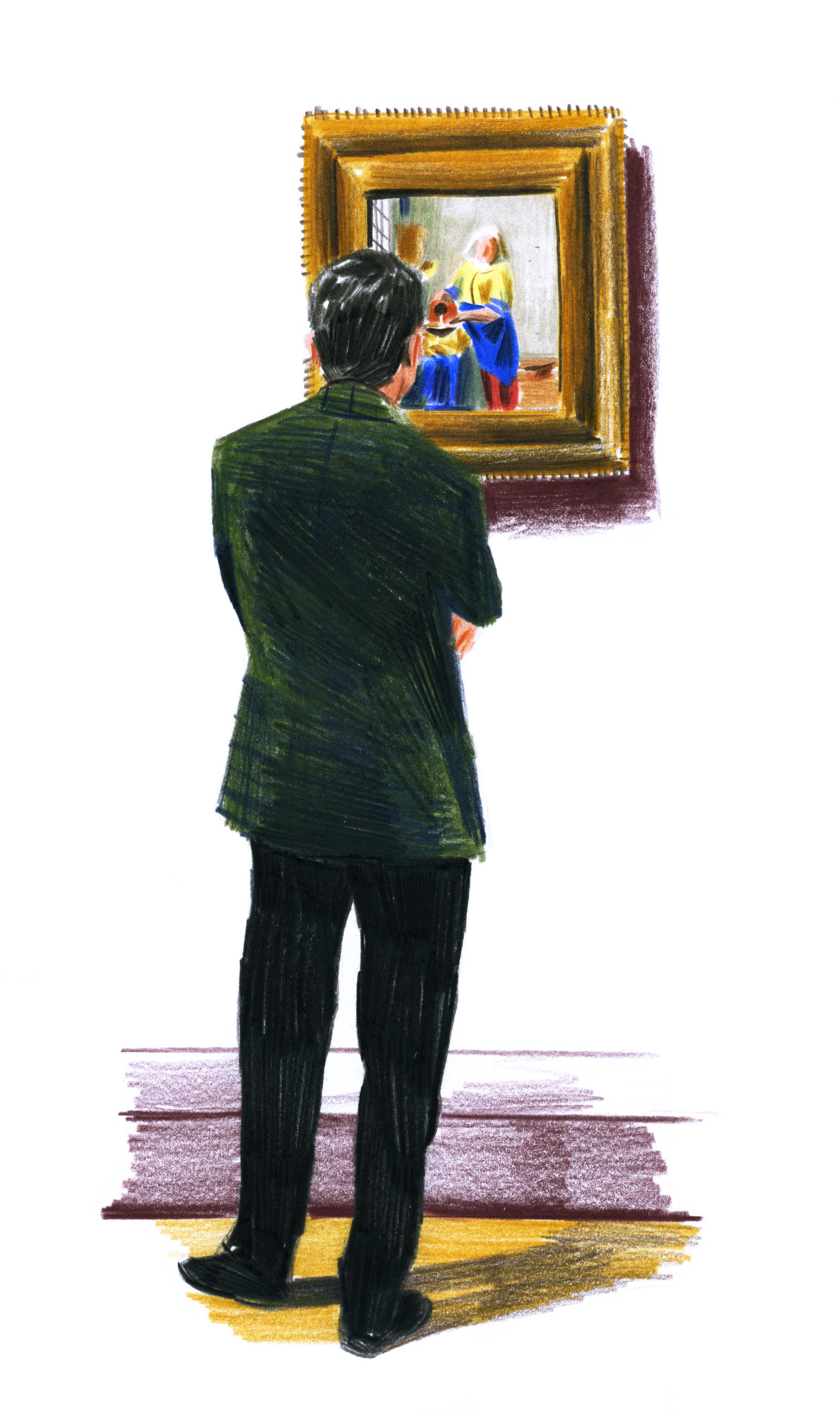La laitière, Vermeer | GALERIE TREIZE-DIX I LUCILE PIKETTY | La laitière, Vermeer