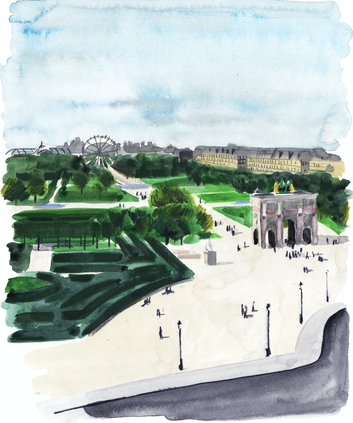 Vue du Pavillon Mollien | GALERIE TREIZE-DIX I LUCILE PIKETTY | Vue du Pavillon Mollien