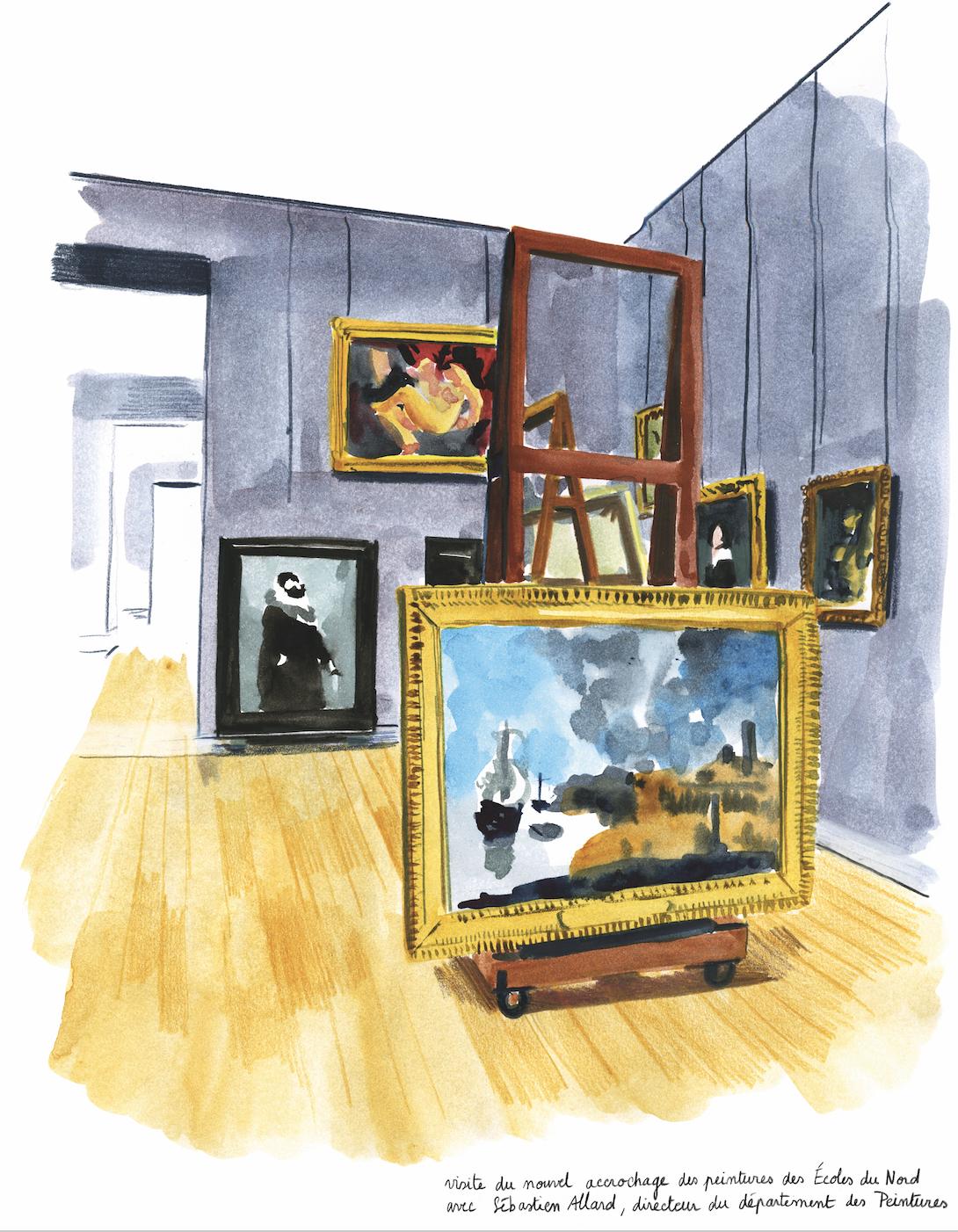 Nouvel accrochage des peintures des Écoles du Nord | GALERIE TREIZE-DIX I LUCILE PIKETTY | Nouvel accrochage des peintures des Écoles du Nord